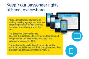 Grafik EU-Fluggastrechte-App