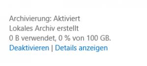 Emailarchivierung3