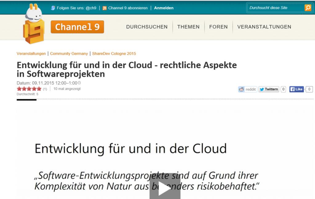 Cloud-Vortrag