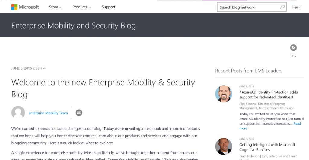 EMS-Blog